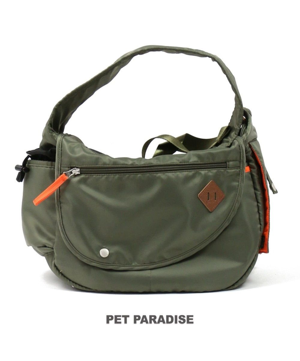PET PARADISE ペットパラダイス ペットキャリーバッグS カーキショルダー〔超小型犬〕 カーキ