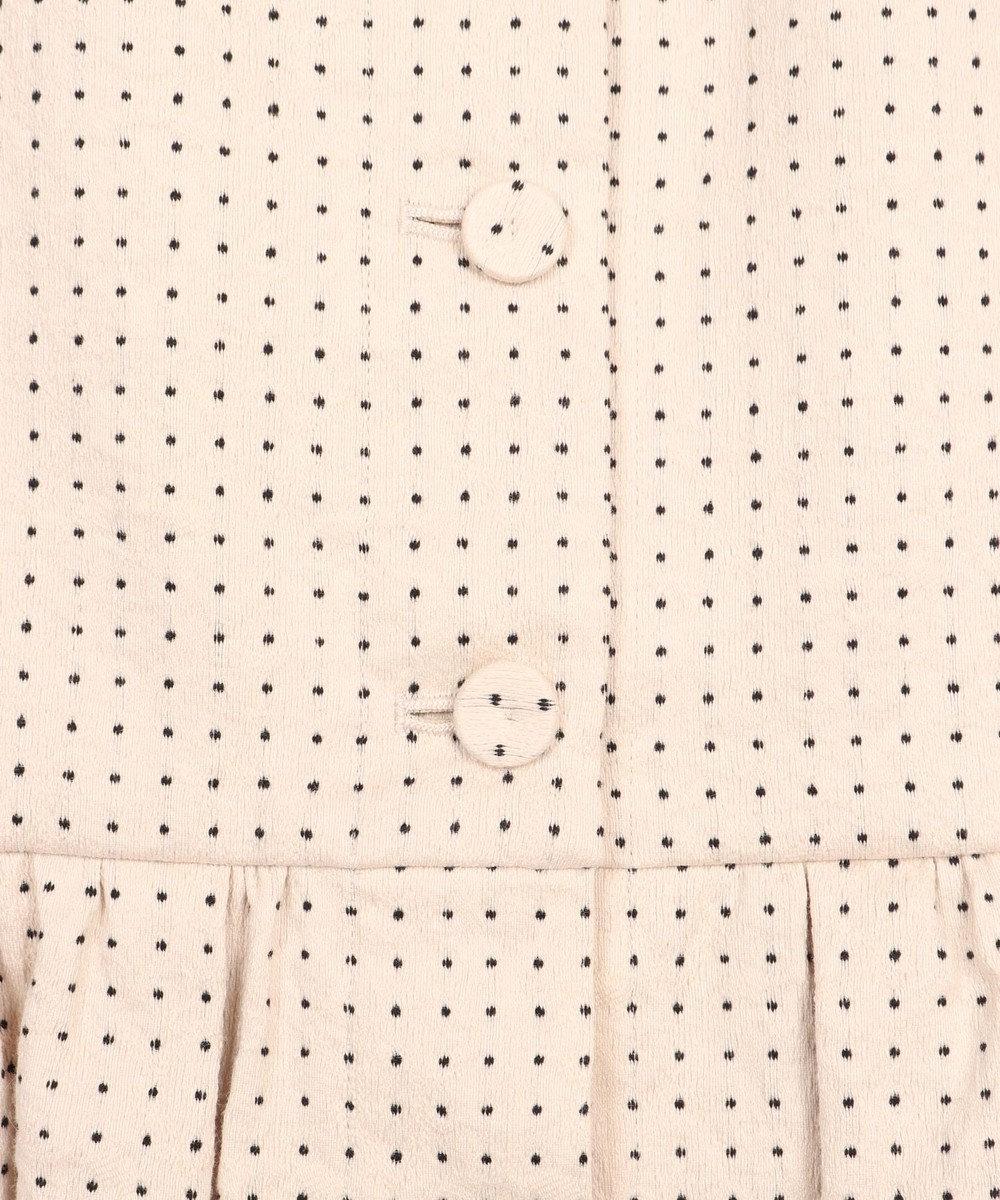 GRACE CONTINENTAL 【オンライン限定】ドットジャガードスカート ベージュ