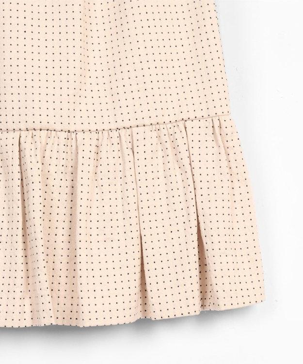 GRACE CONTINENTAL 【オンライン限定】ドットジャガードスカート