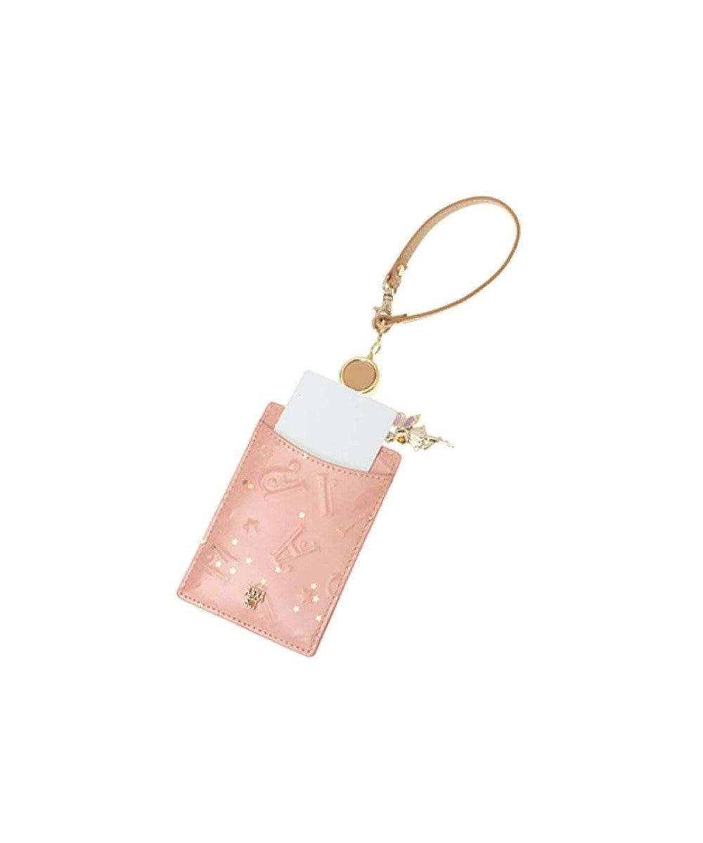 ANNA SUI ANNA SUI アナ スイ パフューム リール付きパスケース「フェアリー」 ピンク