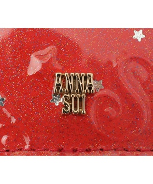 ANNA SUI ANNA SUI アナ スイ パフューム リール付きパスケース「ギター」 レッド