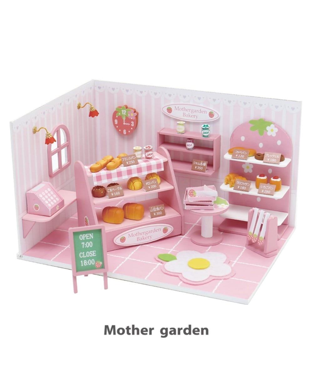 【オンワード】 Mother garden>おもちゃ マザーガーデン ミニチュアハンドメイド パン屋さん ピンク(淡) 0
