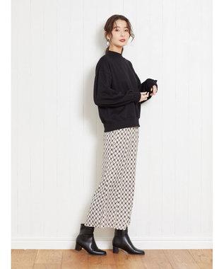 Green Parks ・RAY CASSIN コモン柄マーメイドスカート Off White