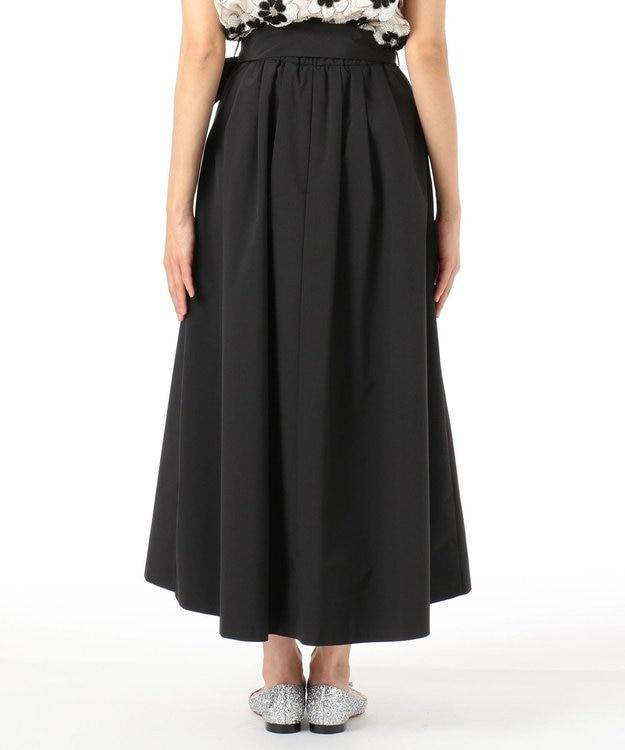 GRACE CONTINENTAL リボンタックロングスカート