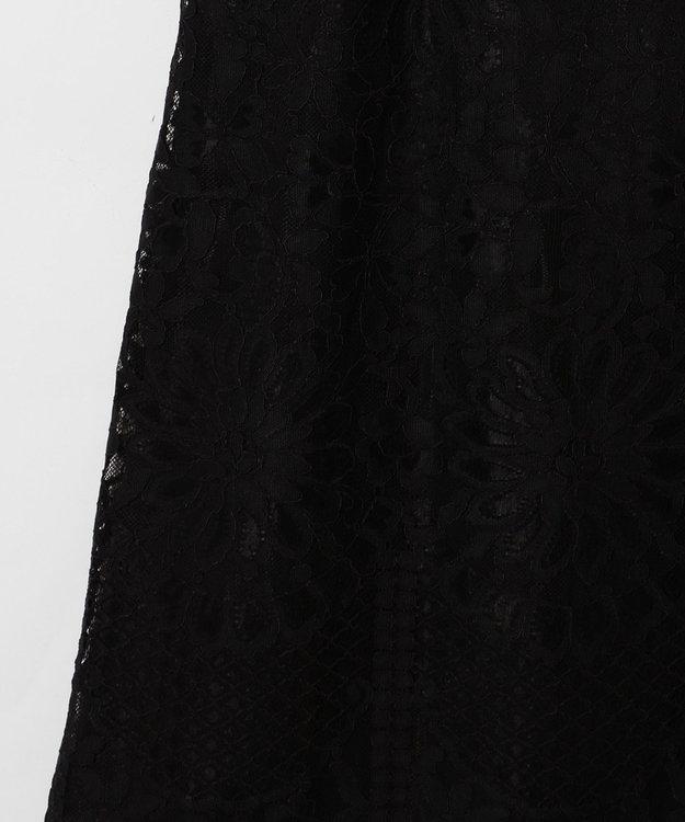 GRACE CONTINENTAL フラワーレースドレス
