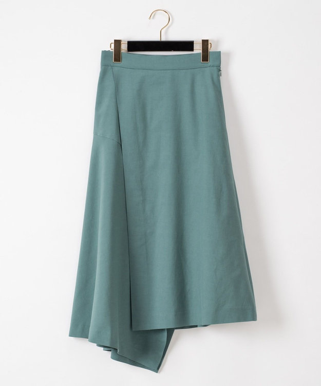 GRACE CONTINENTAL ラップイレギュラースカート