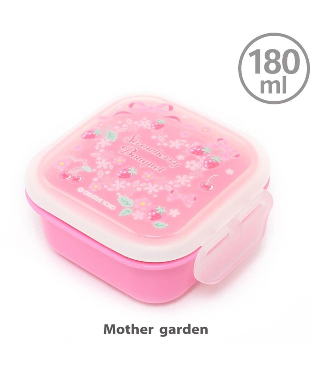 【オンワード】 Mother garden>食器/キッチン マザーガーデン 野いちご フルーツケース 《リボン柄》 日本製 ピンク(淡) 0