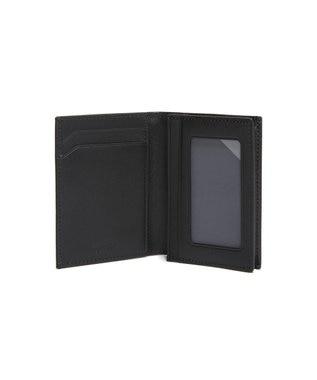 TUMI メンズ  Nassau SLG ガセット・カード・ケース ブラック/シルバー