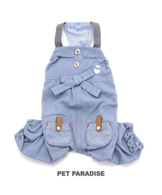 PET PARADISE ペットパラダイス デニム デニム サロペット〔小型犬〕