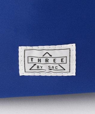 SAC メッシュポケット ショルダーS  Three by sac  メッツ ブルー