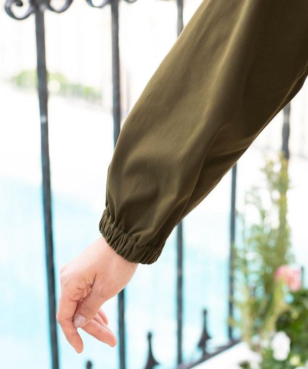Tiaclasse 【洗える】大人可愛いバックフレアショートコート