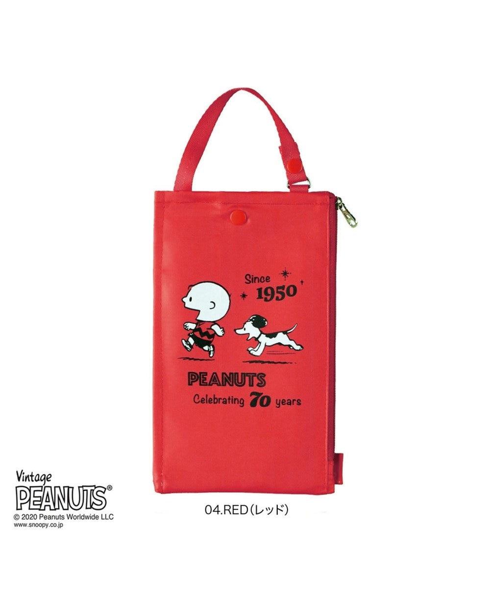 ROOTOTE 8152【スヌーピー×ルートート】/ IP.マスクケース.ピーナッツ-5E 04:レッド