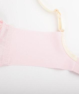 Wing ノンワイヤー【ときはなつブラBeauty Feel】ウイング/ワコール KB1503 ピンク