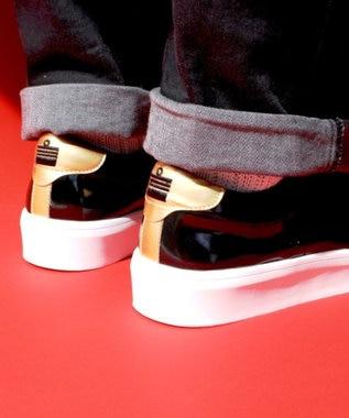 Admiral Footwear 【W/M】【スニーカー】INOMER SHINE/ イノマー シャイン Black/Gold