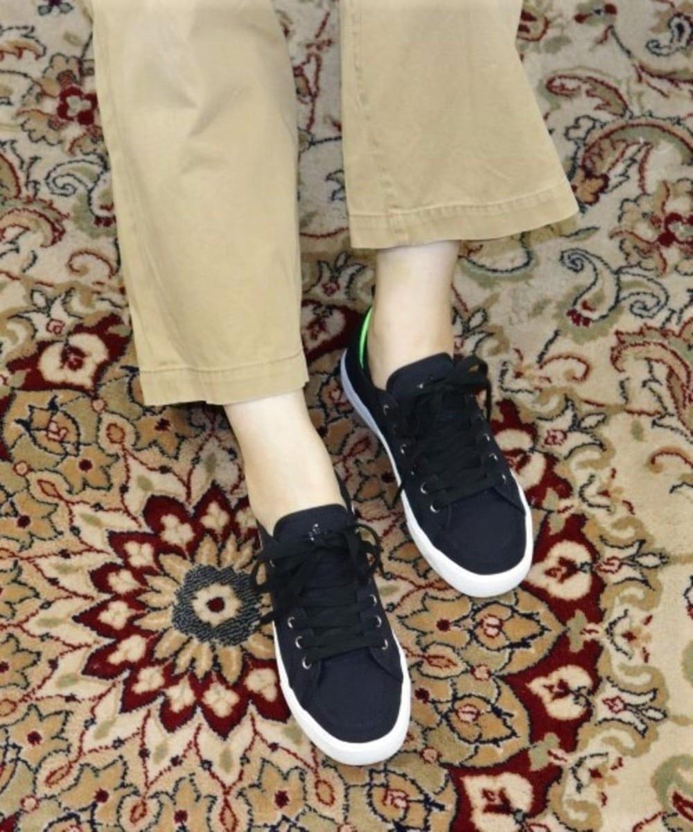 【オンワード】 Admiral Footwear>シューズ 【WOMEN/MEN】【スニーカー】FASLANE LT/ ファスレーン ライト Black/Green UK8(27.0cm) レディース 【送料無料】