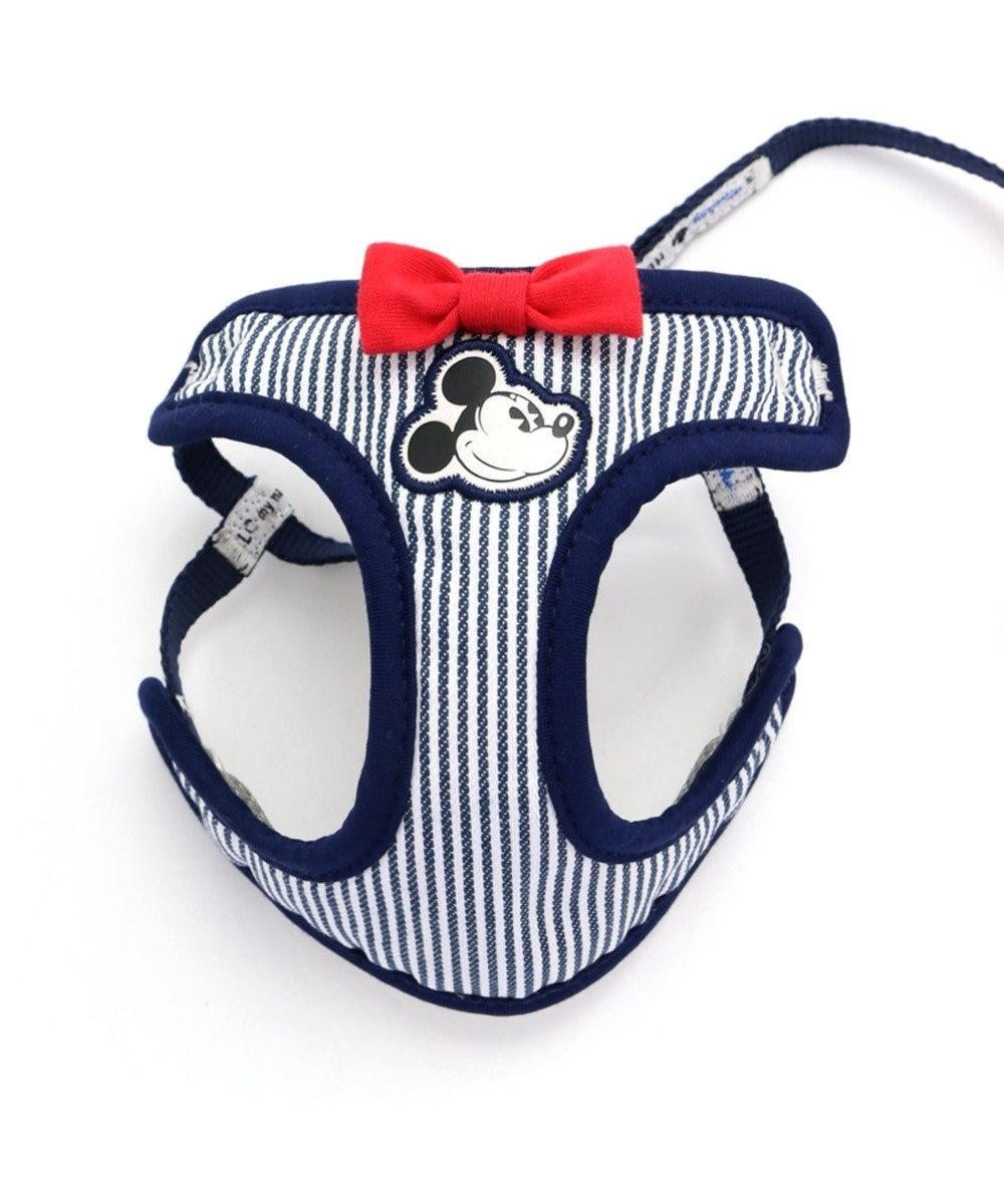PET PARADISE ミッキーマウス ヒッコリー リード付ハーネス ペットSS 水色