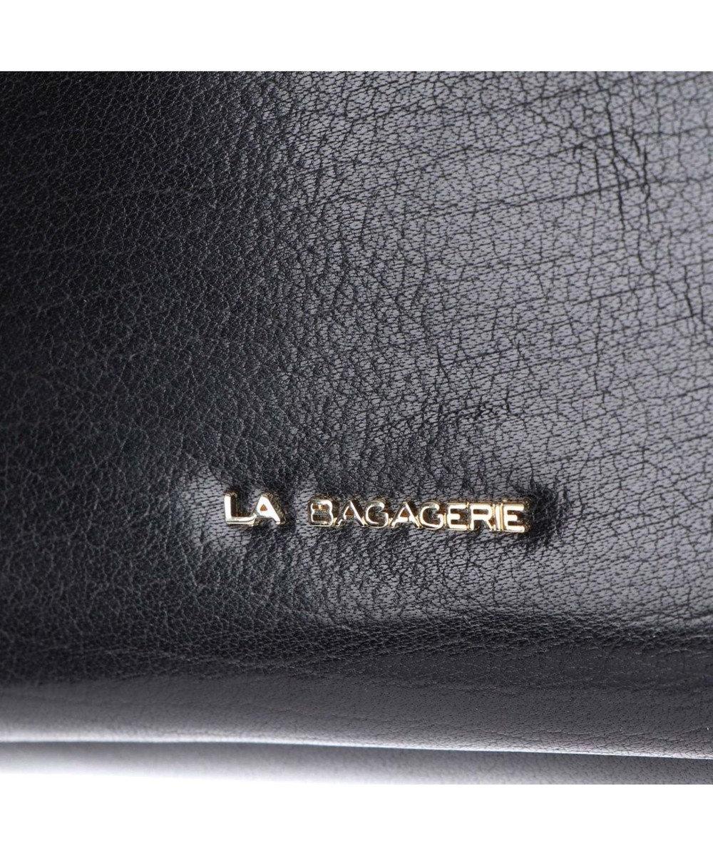 LA BAGAGERIE インポートレザー ショルダー Mサイズ ブラック2