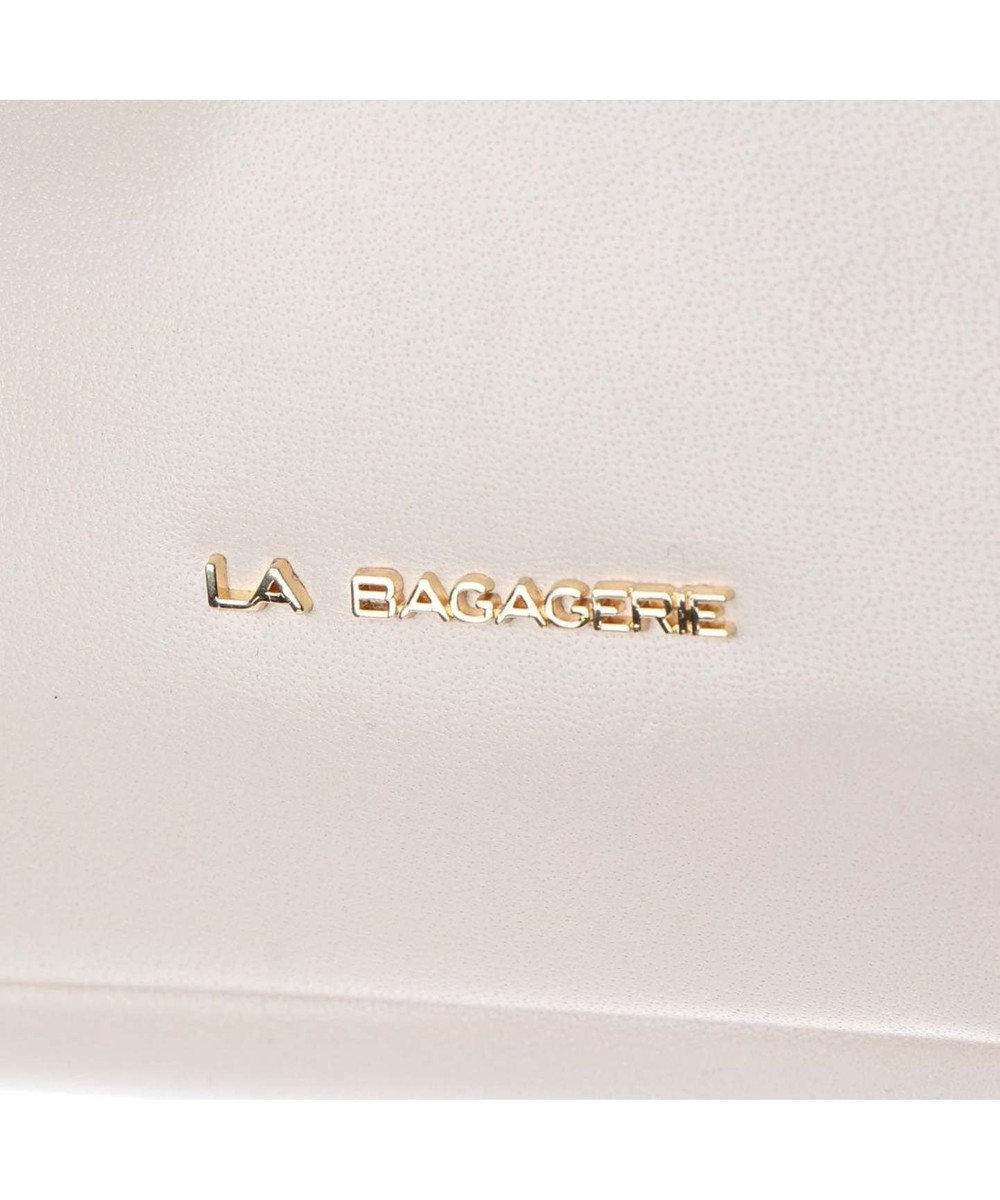 LA BAGAGERIE インポートレザー ショルダー Mサイズ オフホワイト2