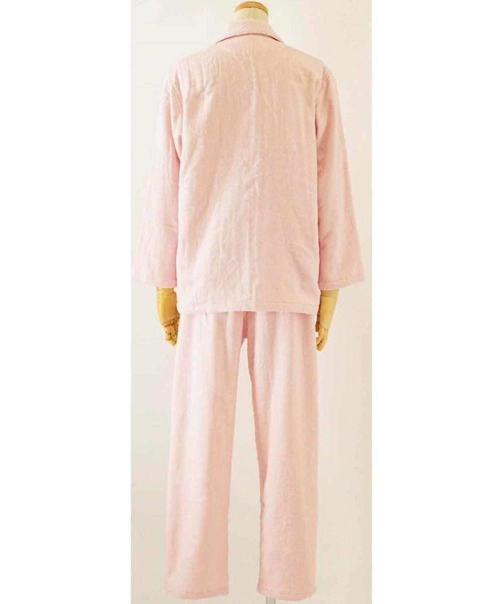 UCHINO マシュマロガーゼ&パイルレディスパジャマ ピンク