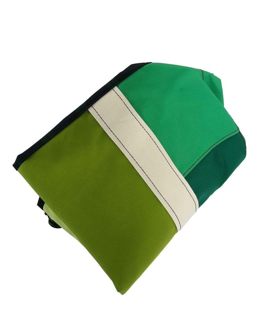 +RING 【大容量】撥水トートバッグ L 緑 SR112 緑
