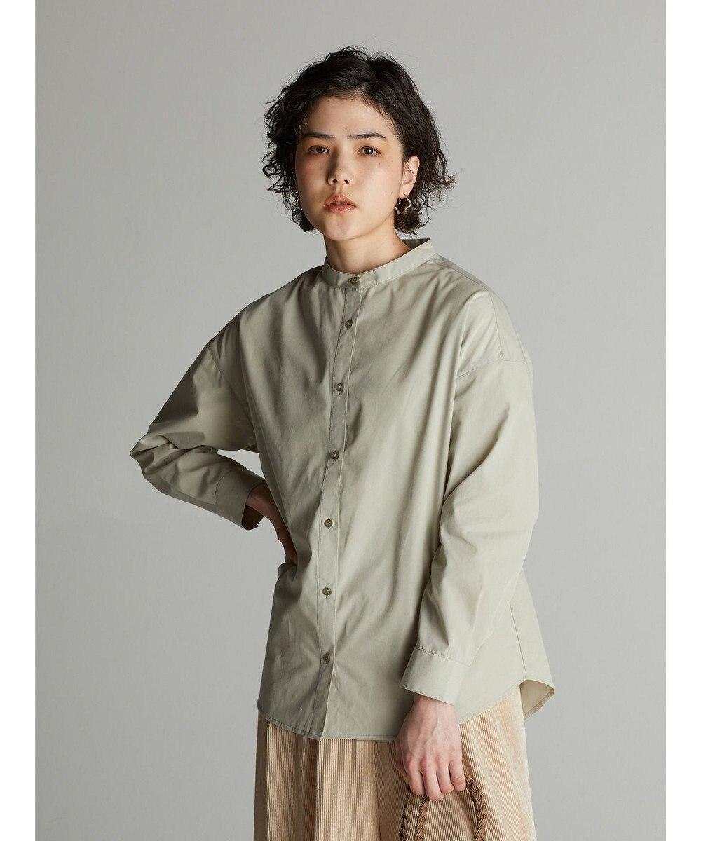 koe バンドカラーシャツ Mint