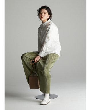 koe バンドカラーシャツ Off White