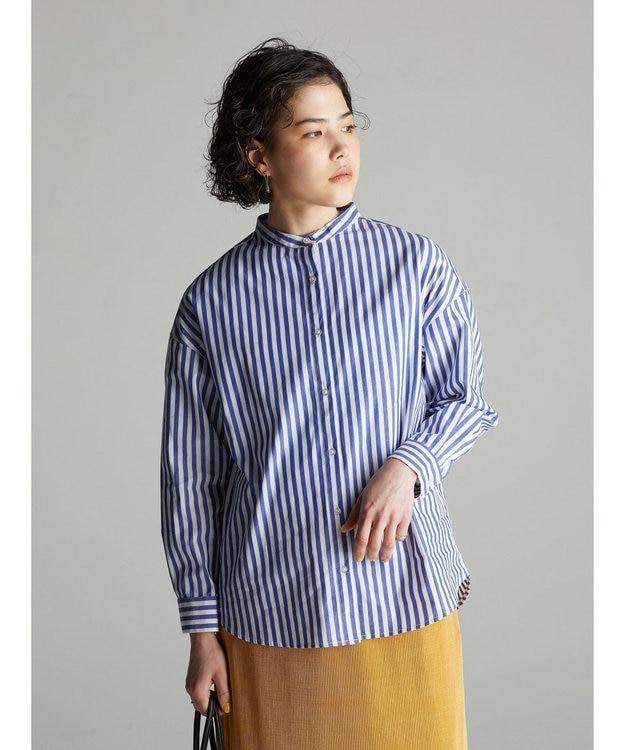 koe バンドカラーシャツ
