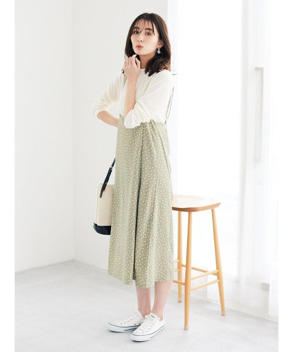 Green Parks ・RAY CASSIN SET2点ハイネック×スカート Mint