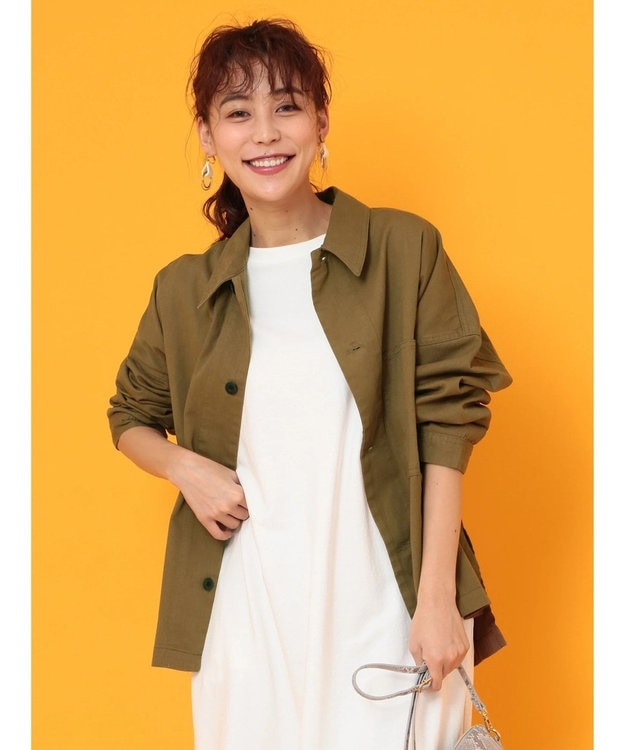 Green Parks ・・ワークビッグシャツジャケット