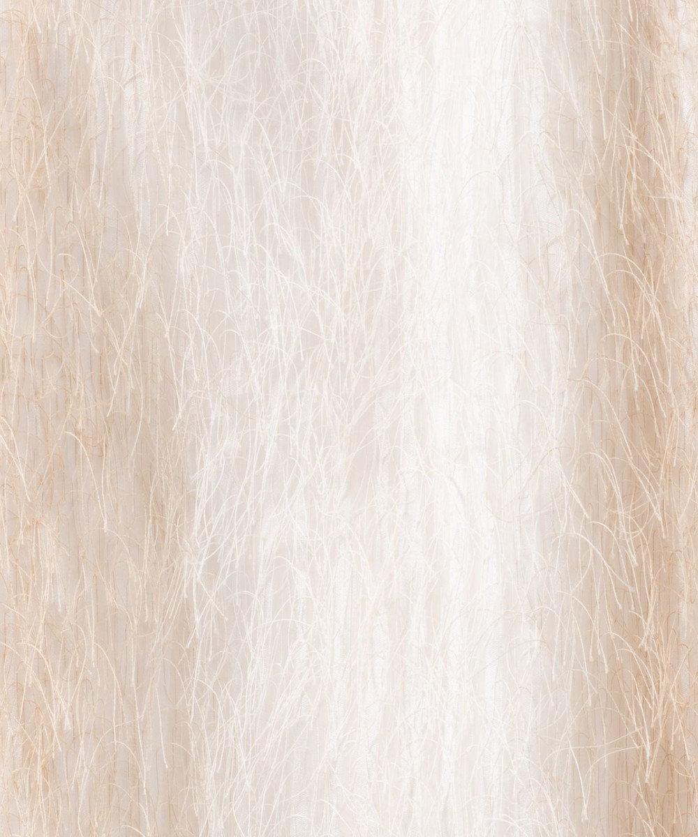 GRACE CONTINENTAL フリンジフレアワンピース キナリ
