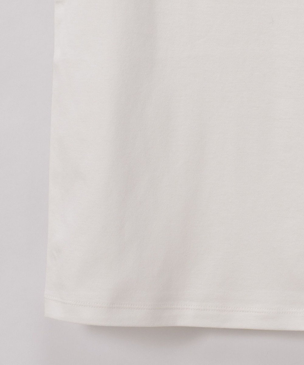 GRACE CONTINENTAL スカラップカットトップ ホワイト