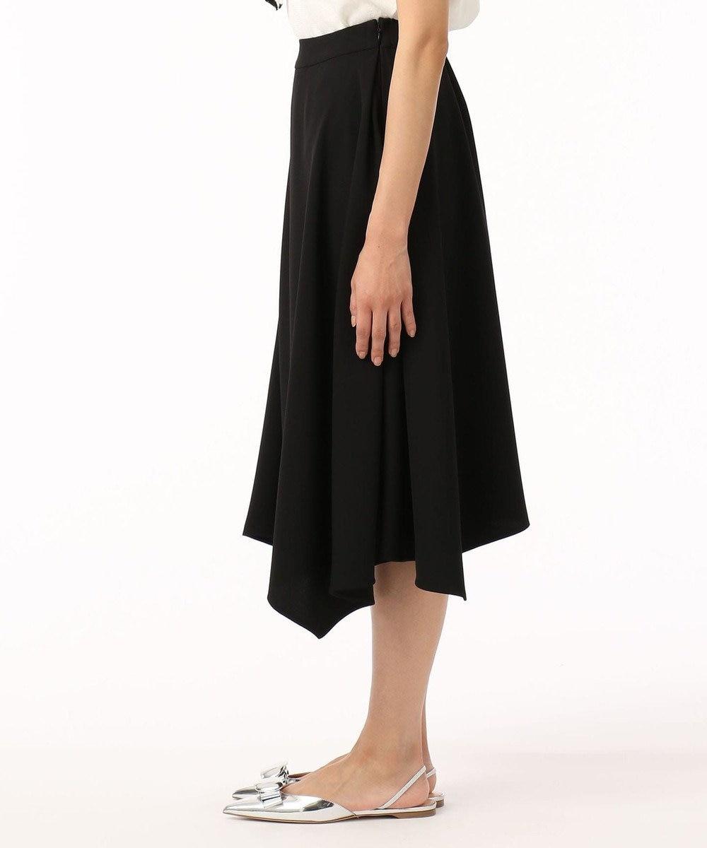 GRACE CONTINENTAL トリアセイレギュラースカート ブラック