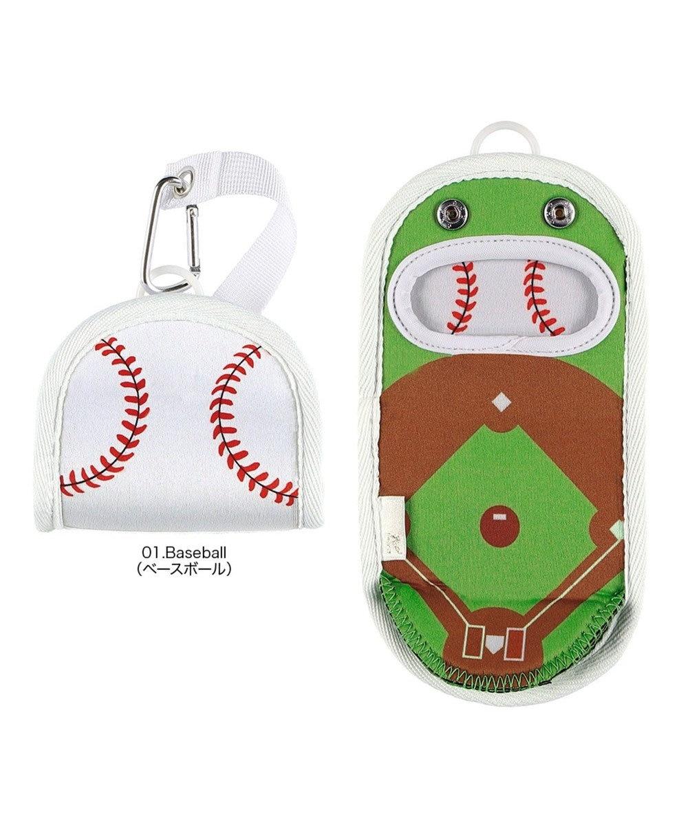 ROOTOTE 3047【バッグアクセサリー】/ CJ.ペコルー.SPORTSスポーツ-G 01:ベースボール