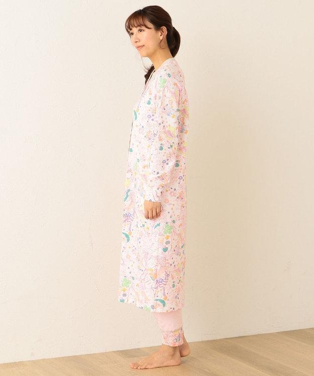 tsumori chisato SLEEP パジャマ 長袖ワンピース&ロングパンツ ナチュラブ柄 /ワコール UDO144