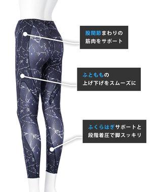 CW-X 【WOMEN】YOGAタイツ ロング  吸汗速乾 UV /ワコール HCY269 オリーブ