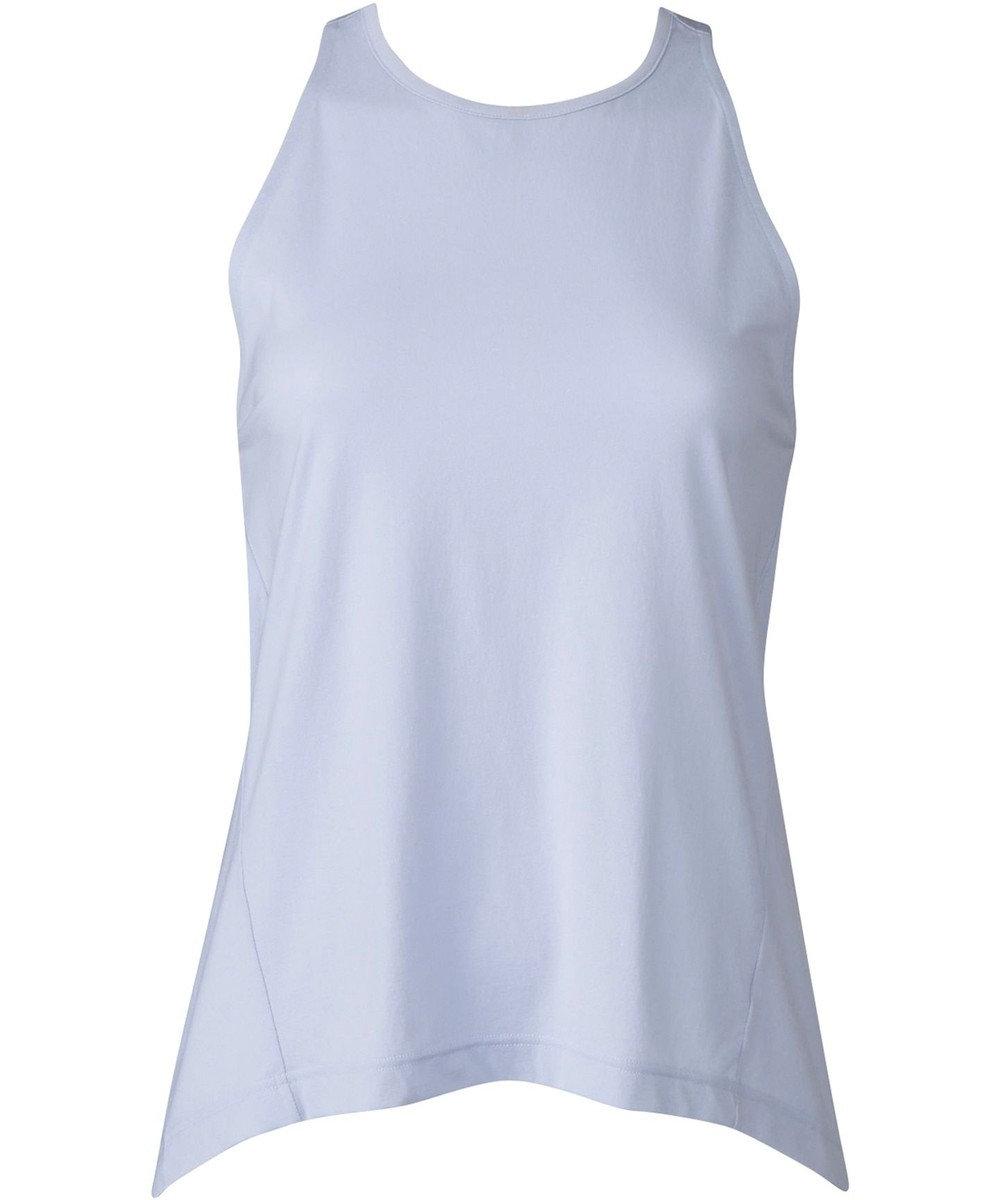 CW-X 【WOMEN】YOGAアウター Tシャツ ノースリーブ  /ワコール DFY540 サックス