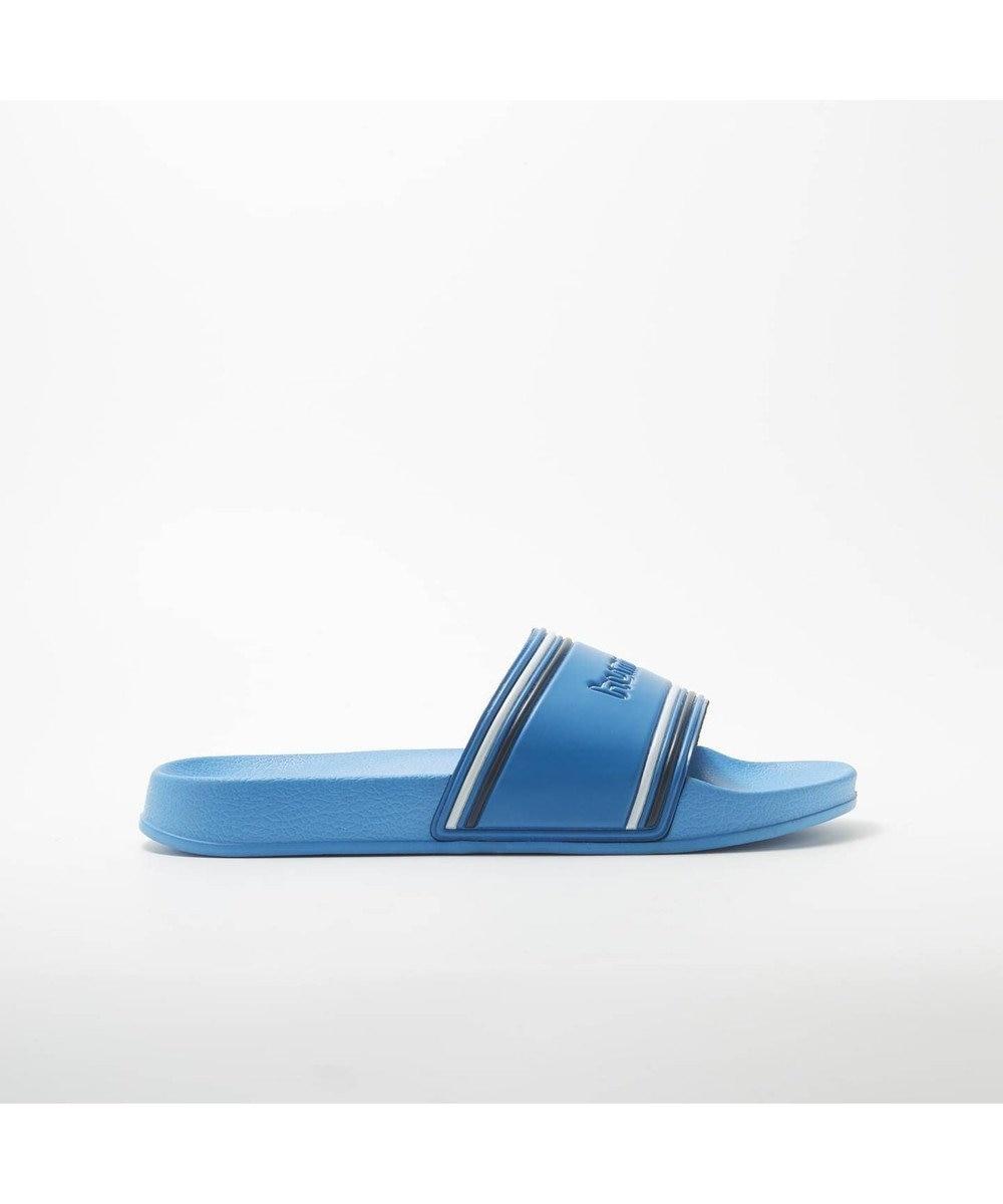 S-Rush 【hummel】POOL SLIDE RETRO ブルー