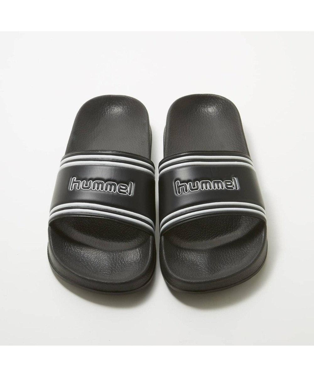 S-Rush 【hummel】POOL SLIDE RETRO ブラック