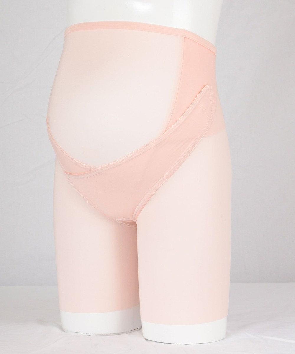Wacoal MATERNITY ワコール マタニティ【産前用】妊婦帯パンツタイプ(おなか・腰サポート) MGP143 サーモンピンク