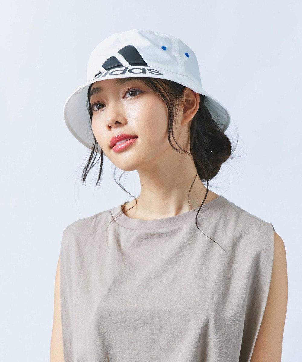 Hat Homes 【adidas/アディダス】BIG BOS ナイロンバケット 白