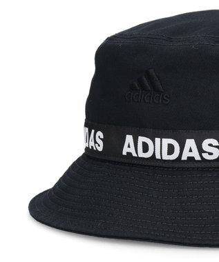 Hat Homes 【adidas/アディダス】LINEAR LINE  ハット 黒