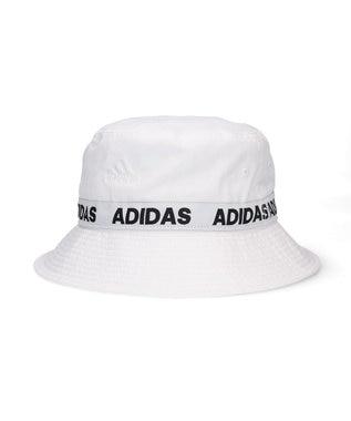 Hat Homes 【adidas/アディダス】LINEAR LINE  ハット 白