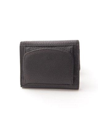 Y'SACCS 三つ折りミニ財布 ブラック
