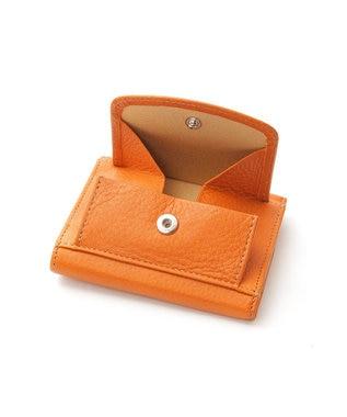 Y'SACCS 三つ折りミニ財布 キャメル