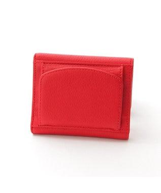 Y'SACCS 三つ折りミニ財布 レッド