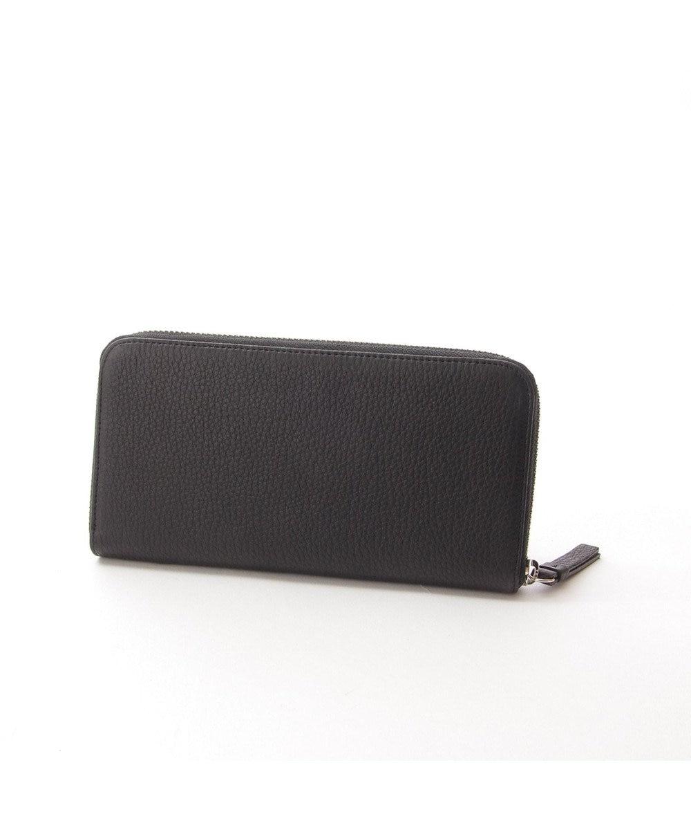 Y'SACCS 長財布(ラウンドファスナー) ブラック