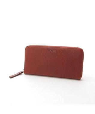 Y'SACCS 長財布(ラウンドファスナー) チョコ