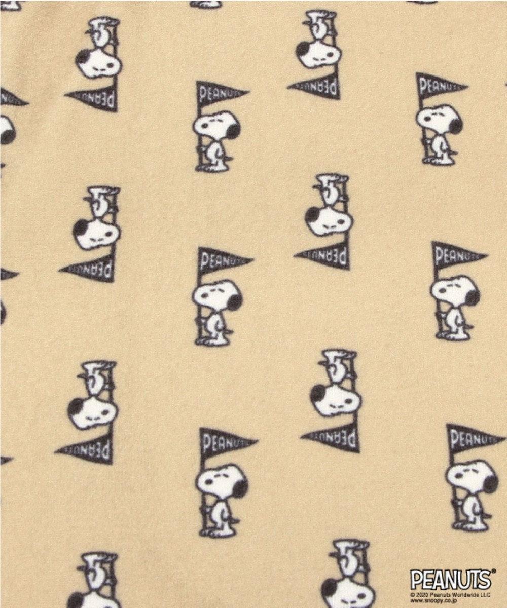 Chut! INTIMATES 【パジャマ・ルームウェア】 ピーナッツ ショート パンツ (C308)スヌーピー ベージュ系プリント