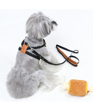 PET PARADISE ペットパラダイス 肉 リュックハーネス&リード  ペット3S 〔小型犬〕 茶系