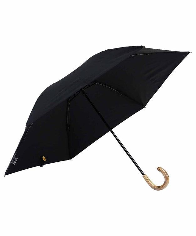 +RING 【数量限定】レディース向け 晴雨兼用(折傘) 遮光 BLK T832